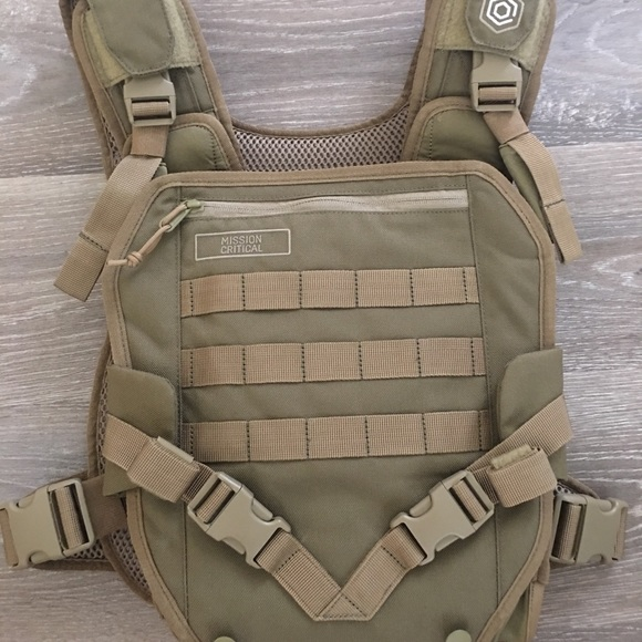 Mission Critical Tactical Front Baby Carrier Vest